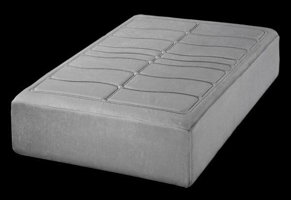 una capa suspension con 5 cm de visco-soja de alta densidad mas 5 cm de espumacion souple.