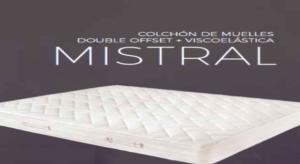 Colchon Mistral viscoelastica